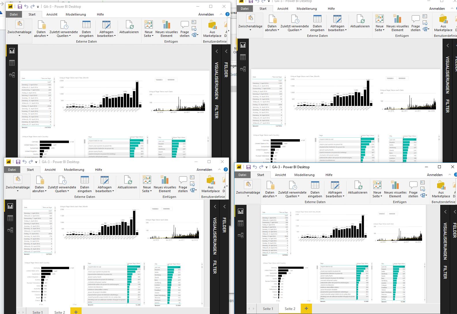 Opening The Same Powerbi File Multiple Times Powerbi Pro