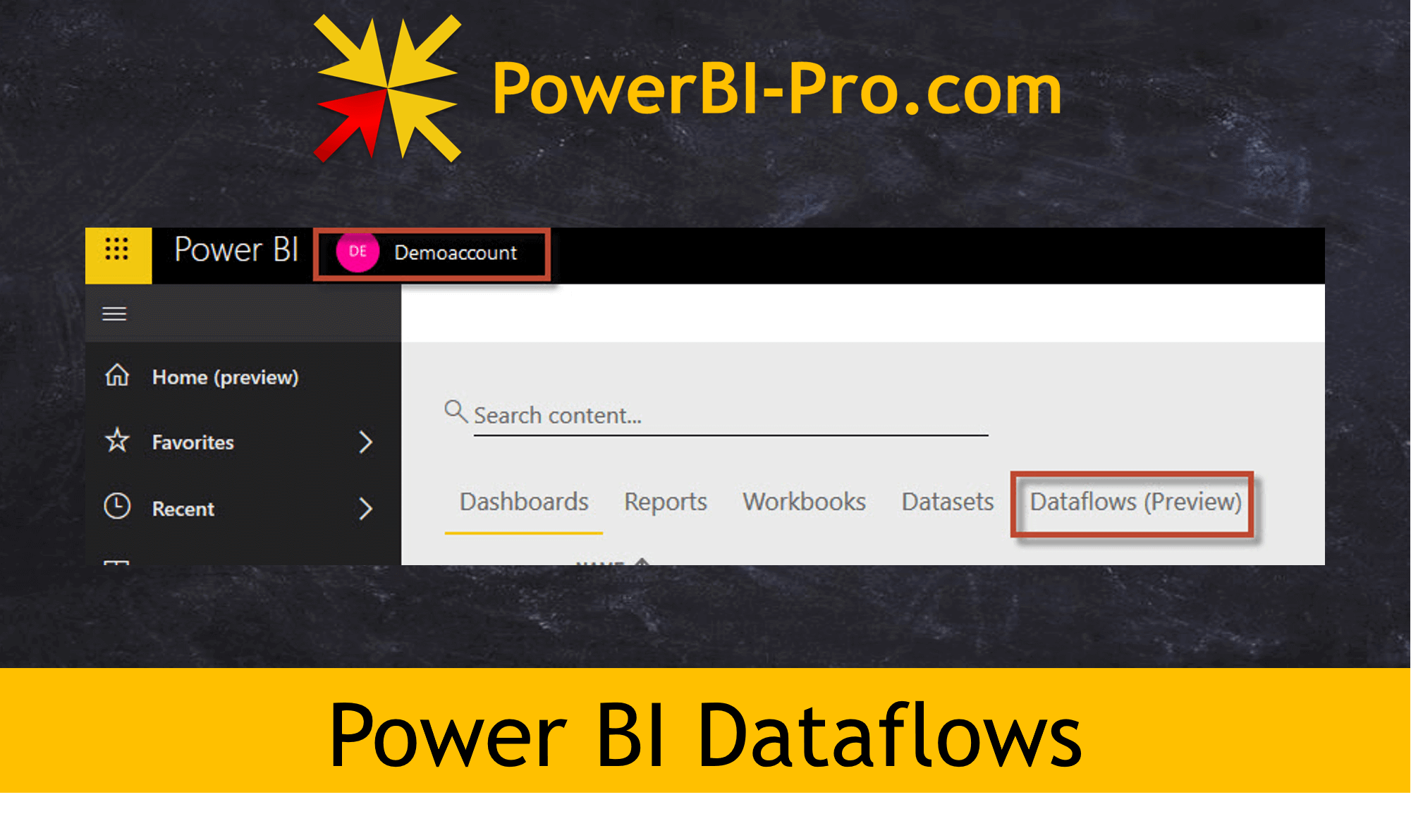 First thoughts about the Power BI Dataflows - PowerBI Pro